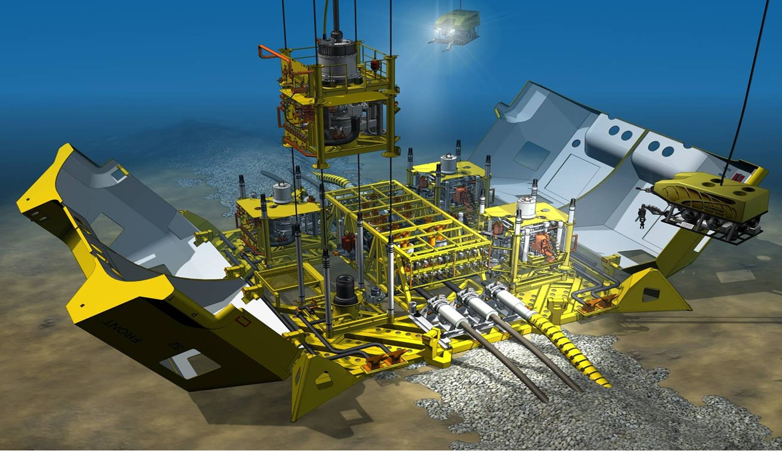 The Need For Subsea Oil And Gas Control Offshore Drilling